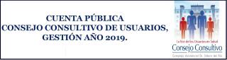 Presentación Cuenta Pública Consejo Consultivo Gestión año 2019